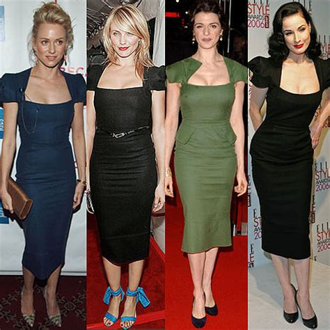 Who Wore Rm By Roland Mourets Moon Dress Better by Why Is The Square Neck Top So Flattering Bee The