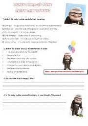 up film worksheet english worksheets daily routine worksheets page 62