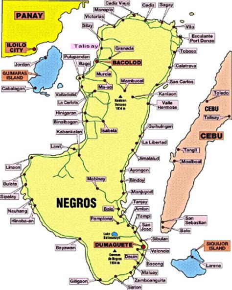 negros occidental map south negros occidental vision for missions philippines