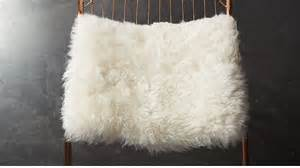 Office Chair Cover Icelandic Sheepskin Chair Cover Cb2