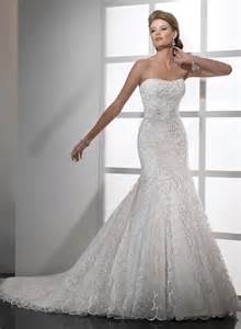 Sweetheart neckline fit and flare wedding dress prom dresses