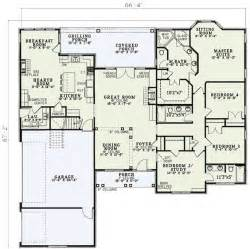 Floor Plans With 3 Car Garage by Plan 5933nd Open Living Pinterest 3 Car Garage House