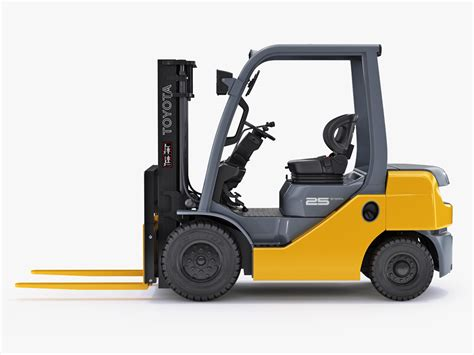 toyota 25 forklift specifications 3d toyota forklift 25 model