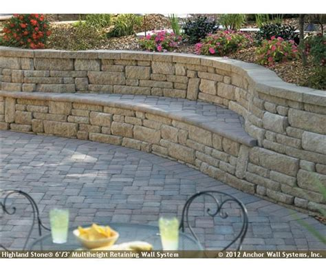 garden retaining wall bench cool bench in retaining wall property ideas
