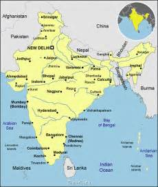 Map Of India Cities by Gallery For Gt India Map With Cities