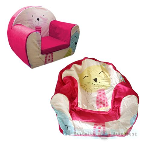 childs foam armchair kids children s comfy soft foam chair cover only toddlers