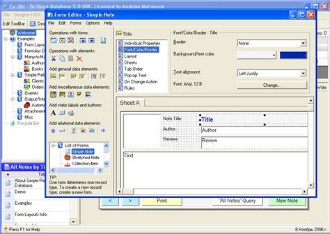 free database programs archives
