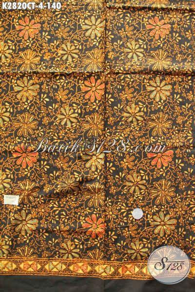 Batik Cap Halus 4 kain batik kekinian motif bagus warna elegan batik