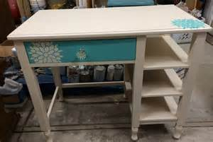 Painting A Desk Ideas Painted Furniture Nightstand Desk Girls Bedroom Custom