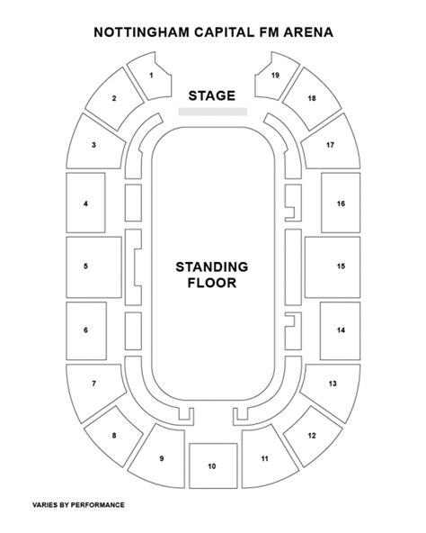 nottingham arena floor plan nottingham arena floor plan amazing nottingham arena floor