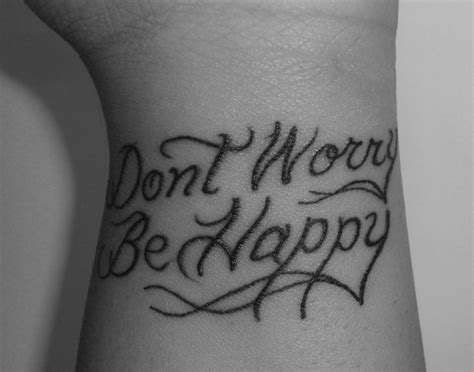 be happy tattoo 22 best don t worry be happy images on