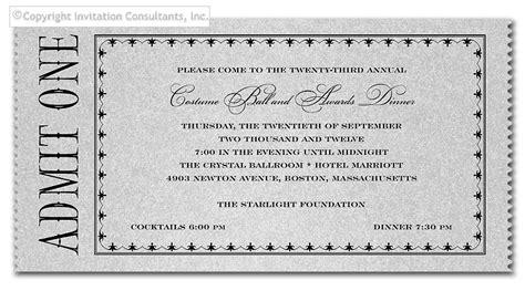 admit one ticket invitation template admit one ticket invitation template quotes