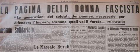 giornale e donna la donna e il fascismo 2 televignole