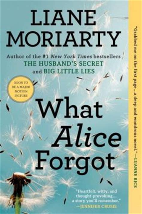 what forgot by liane moriarty 9780425247440