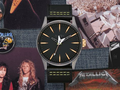 metallica x nixon nixon s new metallica watches are here for the ultimate
