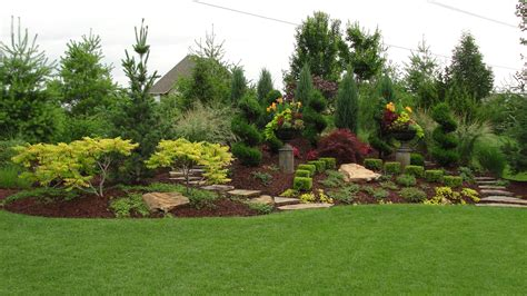 Landscaped Background Presidential Properties Ottawa Landscaping Companies Kansas City