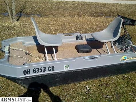 used pedal boat for sale in ohio armslist for sale trade 8 1 2 sun dolphin boat w extra