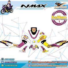 Custom Decal N Max custom decal vinyl striping motor yamaha mio m3