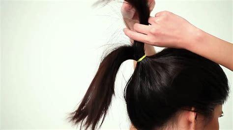 tutorial sanggul rambut pendek youtube beauty video step by step cepol modern simpel youtube