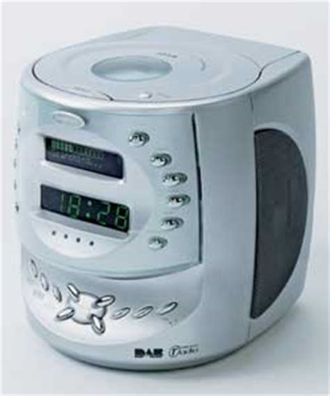 goodmans cd clock radio