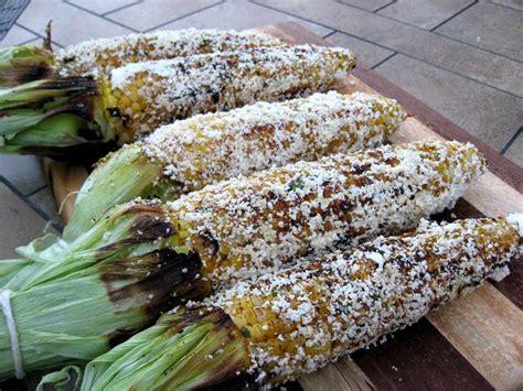 recipe smoked chili queso corn on the cob the bald gourmet