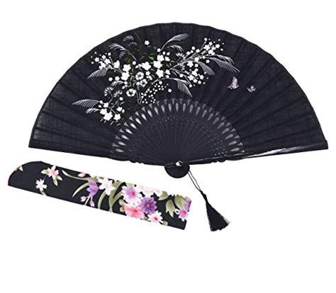 large decorative folding fans amajiji 8 27 quot beautiful hand crafted chinese japanese hand