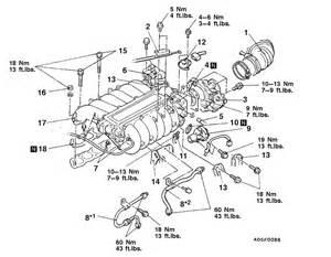 mitsubishi 3 0 v6 engine diagram