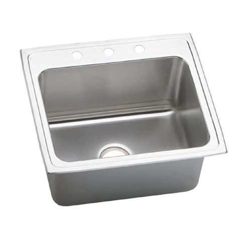 3 bowl stainless steel kitchen sinks elkay dayton drop in stainless steel 25 in 3 hole single