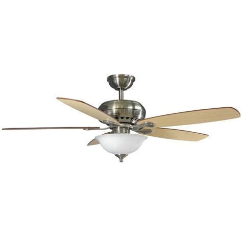 hton bay remote ceiling fans hton bay southwind 52 quot brushed nickel ceiling fan