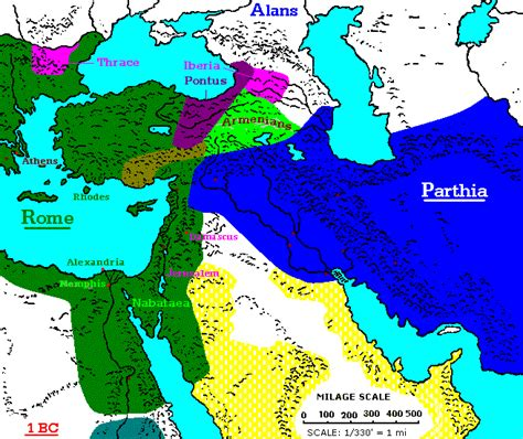 middle east map bc 1 bc
