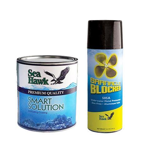 boat paint kit sea hawk outdrive boat bottom paint brush on kit