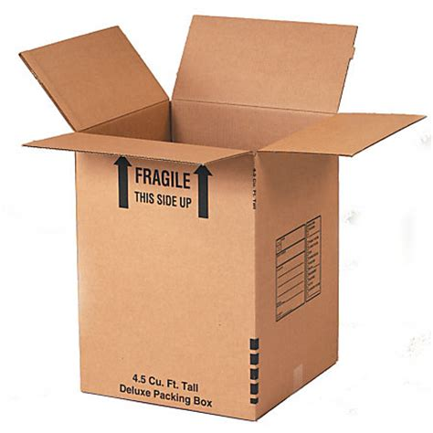 office depot brand deluxe moving boxes 18 x 18 x 24 kraft