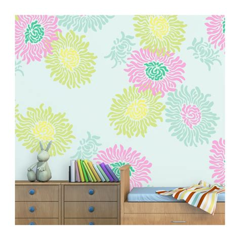 large wall stencils large flower wall stencils www imgkid the image