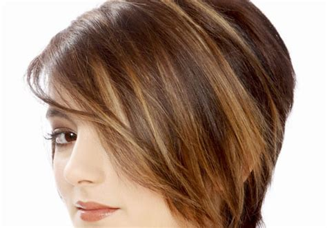 short hairstyles with brown hair and highlights chestnut brown hair color with caramel highlights