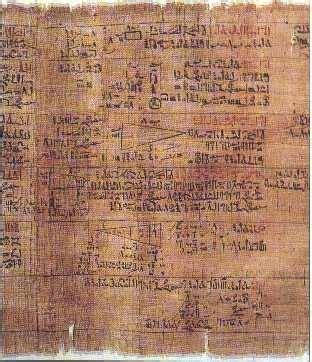 el papiro egipcio el primer libro de la historia las matem 225 ticas