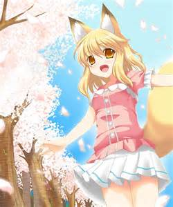 Cute fox girl anime paradise picture