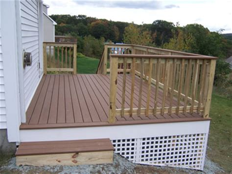 testimonial addition  deck