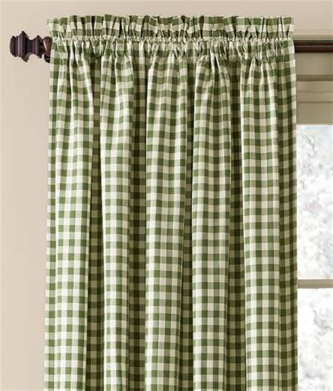 checked curtains country best 25 rod pocket curtains ideas on pinterest make