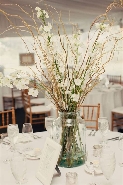 branches curly willow and centerpieces on pinterest