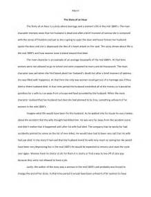 Story Writing Essay by The Story Of An Hour Essay