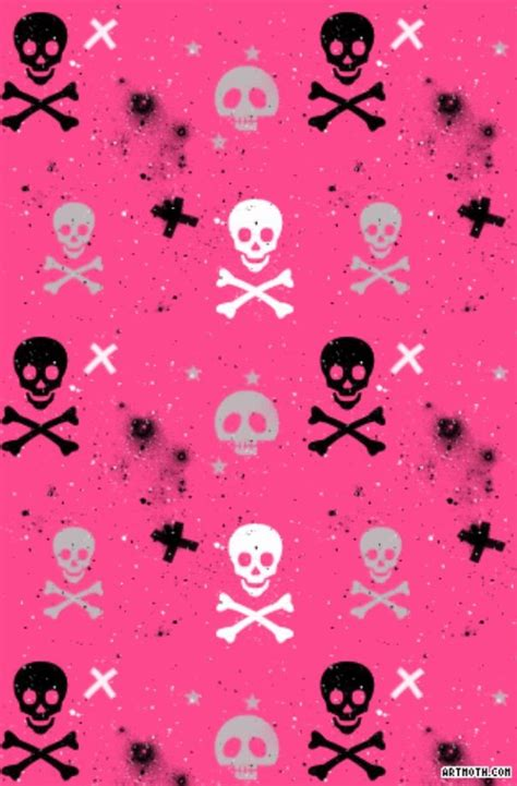 iphone wallpaper girly skull pink with skulls background pictures for iphone pinterest