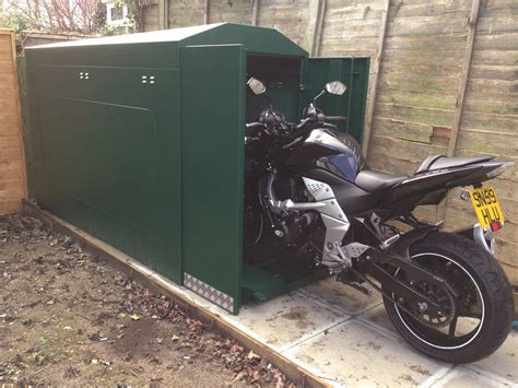 Motorbike Lock Up Shed by Superbike Magazine S Top 10 Security Products Superbike