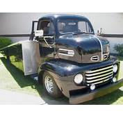 BangShiftcom Check Out This 1948 Ford COE Ramp Truck We Found On