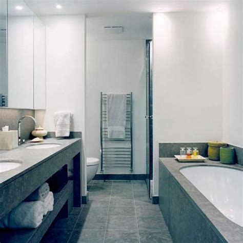 hotel bathroom ideas grey marble bathroom with double sink housetohome co uk