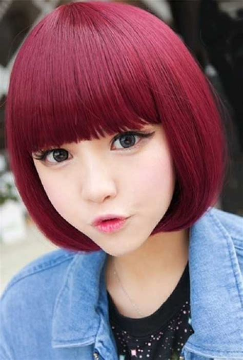 10 Short Chinese Bob Hairstyles   Bob Hairstyles 2017