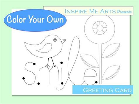Color Your Own Cards - discover and save creative ideas