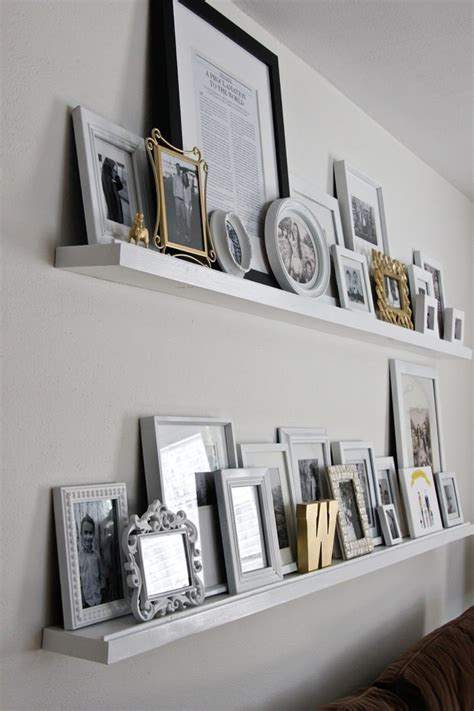 picture ledge ideas 13 adorable diy floating shelves ideas for you diy and