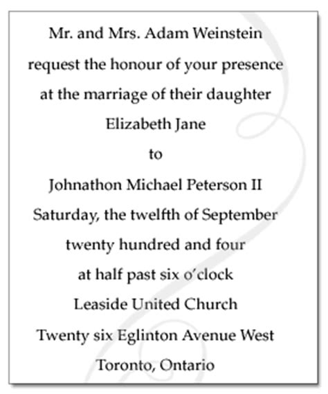 Wedding Announcement Write Up by Funky Wedding Invitations