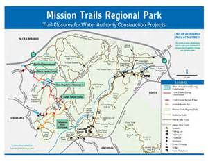 mission trail map mission trails project