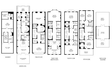 grimmauld place floor plan 26 west 76th st townhouse sale in upper west side
